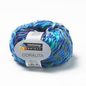 smc select coralita farbe lagune schnik schnak wolle onlineshop. Black Bedroom Furniture Sets. Home Design Ideas